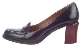 Fendi Leather High-Heel Pumps