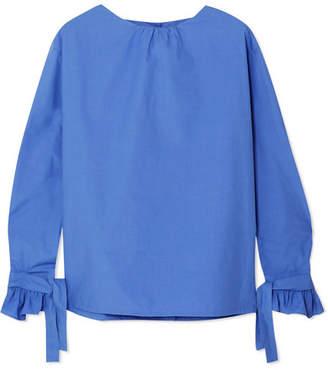 Atlantique Ascoli Cordage Cotton-poplin Blouse