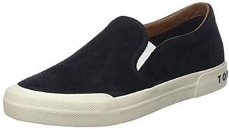 Tommy Hilfiger Men's Heritage Suede Slip Low-Top Sneakers