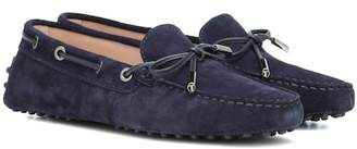 Tod's Heaven New Laccetto suede loafers