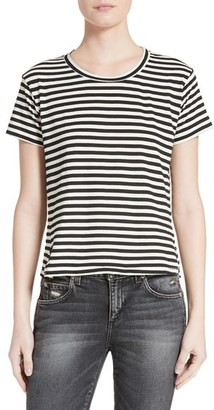 Women's Amo Seaton Stripe Tee $115 thestylecure.com