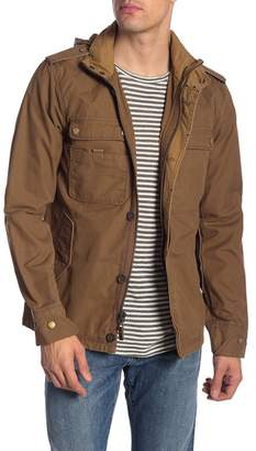 Jeremiah Paxton Military Jacket w/ Packable Hoodie