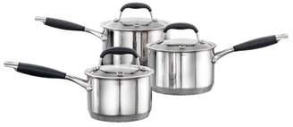 Baccarat Capri + Stainless Steel Cookware Set 3 Piece