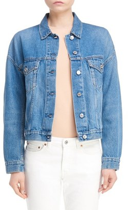 Women's Acne Studios Denim Jacket $360 thestylecure.com