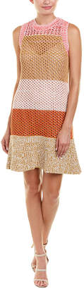 Derek Lam 10 Crosby Colorblocked Sweaterdress