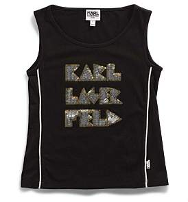 Karl Lagerfeld Girls Tank Top (2-6Y)