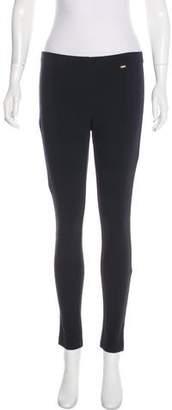St. John Mid-Rise Skinny Pants