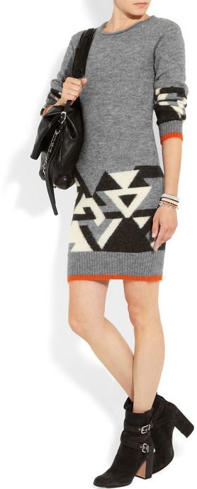 Matthew Williamson Knitted sweater dress