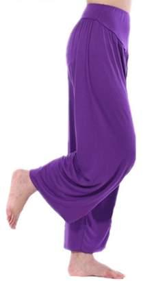 GOGO TEAM Womens Yoga Sports Fitness Dance Jogging Harem Pants-XL