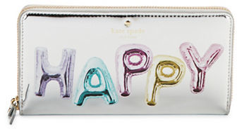 Kate Spade Kate Spade New York Happy Lacey Whimsies Zip Around Wallet