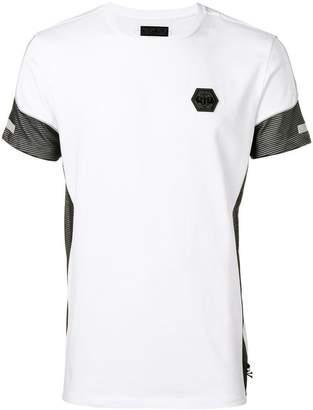 Philipp Plein contrast detail T-shirt