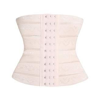adbbc83c40 August Jim Women s Waist Trainer - Modeling Strap Belt Slimming Corset Body  Shaper