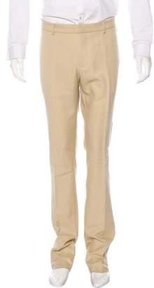 Gucci Wool-Blend Metallic Slim Fit Pants w/ Tags
