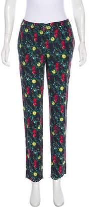 Armani Jeans Mid-Rise Straight-Leg Pants