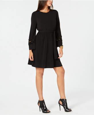 Michael Kors Lace-Trim Dress