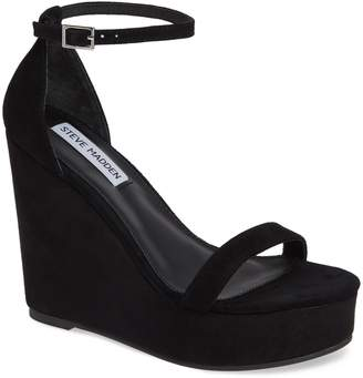Steve Madden Succeed Platform Wedge Sandal