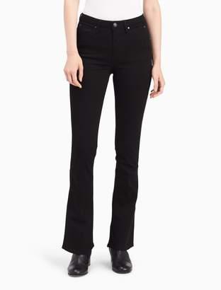 Calvin Klein sculpted clean black bootcut jeans
