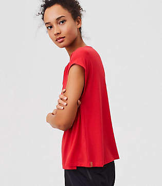 Lou & Grey FORM Breather Tee - Low Impact