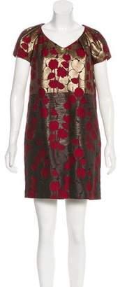 Etro Short Sleeve Mini Dress