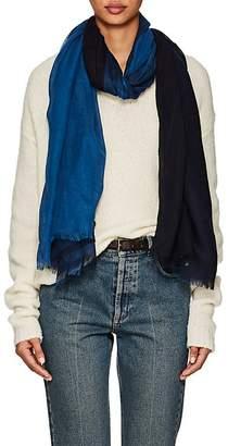 Barneys New York Women's Colorblocked Linen-Silk Oversized Scarf