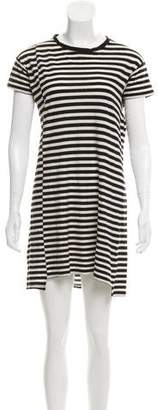 Hope Striped Mini Dress