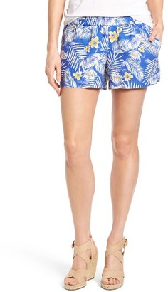 Women's Kut From The Kloth Gabrielle Print Linen Shorts $58 thestylecure.com