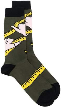 Henrik Vibskov Hands On socks