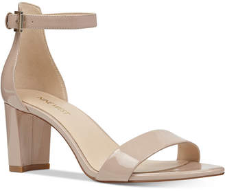 Nine West Pruce Block-Heel Sandals Women Shoes