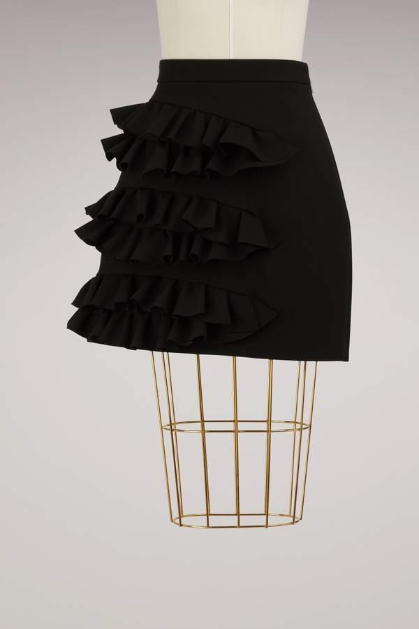 Msgm Mini skirt with ruffles