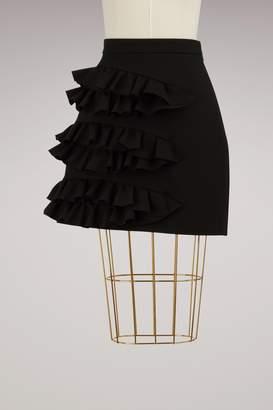 MSGM Ruffled Mini Skirt