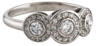 Tiffany & Co. Platinum Diamond Circlet Ring