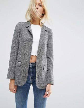 ASOS Textured Jersey Blazer $68 thestylecure.com