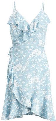 Ralph Lauren Denim & Supply Floral-Print Wrap Dress $98 thestylecure.com