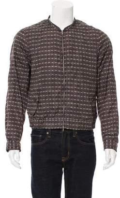 Dries Van Noten Lightweight Printed Jacket