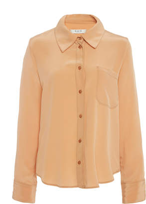 Sea Santorini Silk Collared Shirt