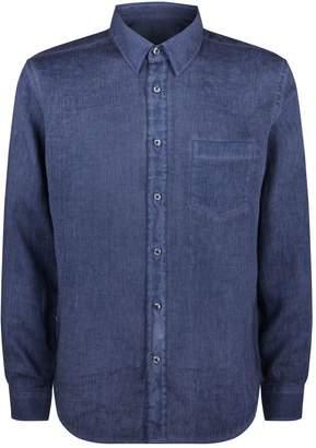 120% Lino 120 Lino Long-Sleeve Linen Shirt