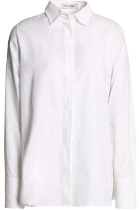Valentino Cotton-pique Shirt