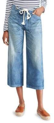 Polo Ralph Lauren Cropped Wide Leg Jeans