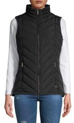 Calvin Klein Chevron Puffer Vest