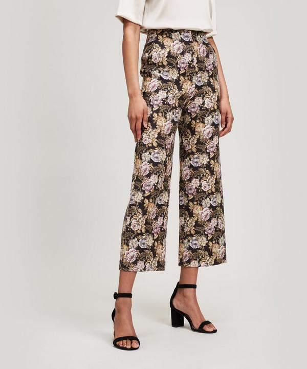 Nanushka Varsa Rose Jacquard Trousers