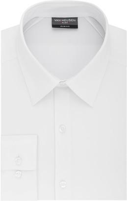 Van Heusen Mens Flex 3 Slim Fit 4-Way Stretch Dress Shirt