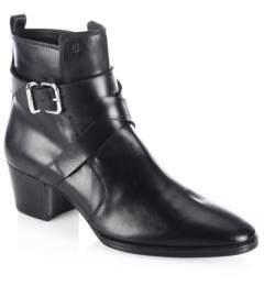 Tod's Wraparound Leather Booties