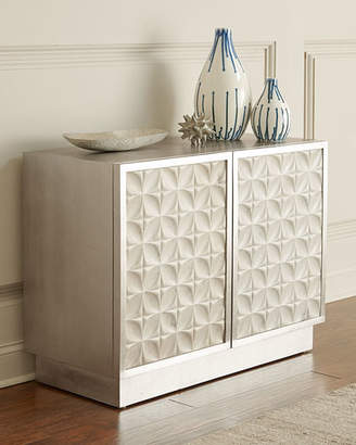 Bernhardt Greyville Chest with Patterned Marble