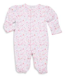 Kissy Kissy Baby's Blossoms Floral-Print Footie
