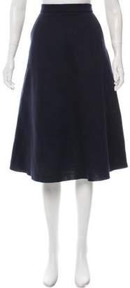 Être Cécile Neoprene Midi Skirt