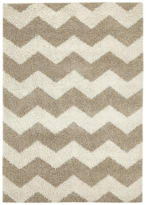 At Littlewoods Ideal Home Shaggy Chevron Rug