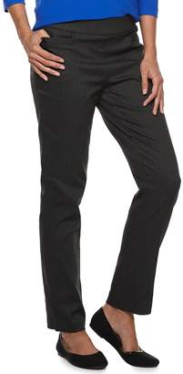 Dana Buchman Women's Pull-On Straight Leg Pants