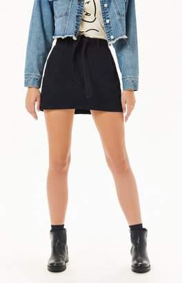 PacSun A-Line Tie Skirt