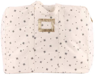 Polder Sale - Ecru 72h Weekend Bag - Grey Stars Girl