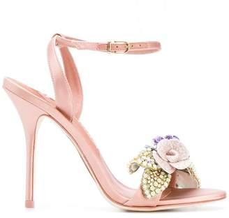 Sophia Webster floral sandals